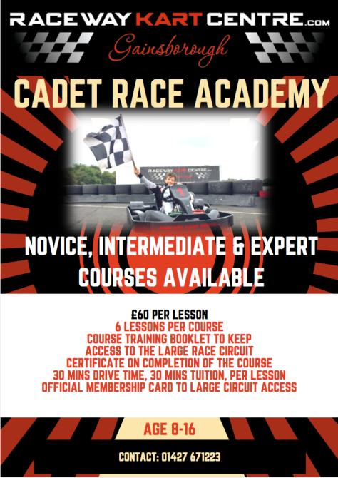Cadet Race Academy Flyer
